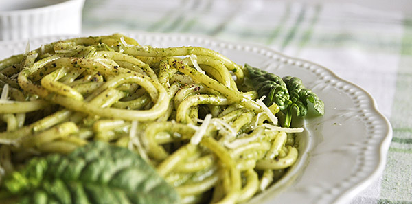 Πέστο από σπανάκι/spinach pesto