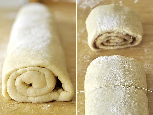 Ζύμη για ρολά κανέλας χωρίς μαγιά/No yeast cinnamon roll dough