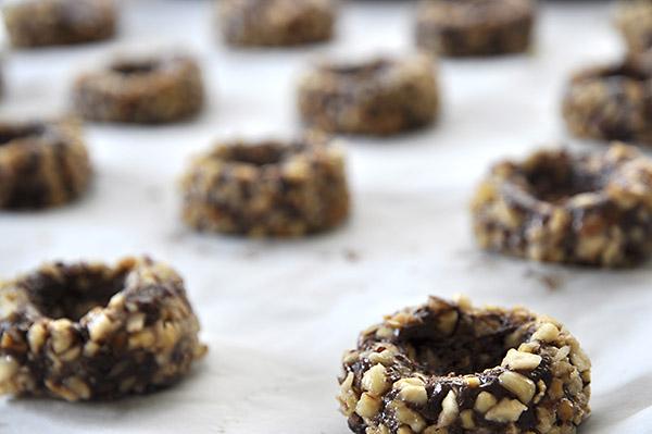 Σοκολατένια cookies με καραμέλες γάλακτος/Chocolate turtle cookies