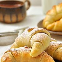 Γλυκά ή αλμυρά κρουασανάκια στο πι και φι