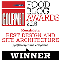 BHMAgourmet Best Design and Site Architecture Award Badge